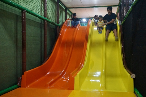 fun on the slides