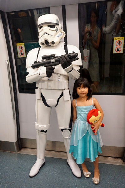 harassing the Stormtrooper