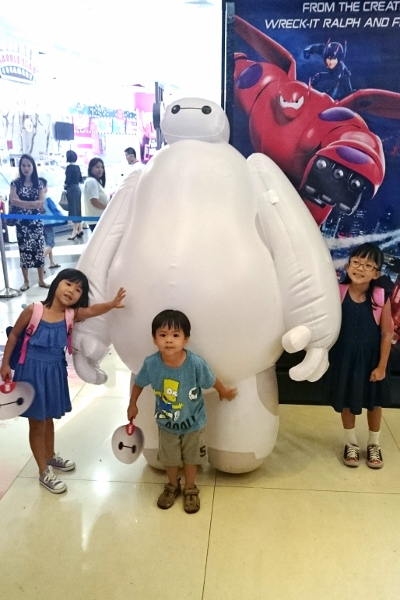 with Baymax