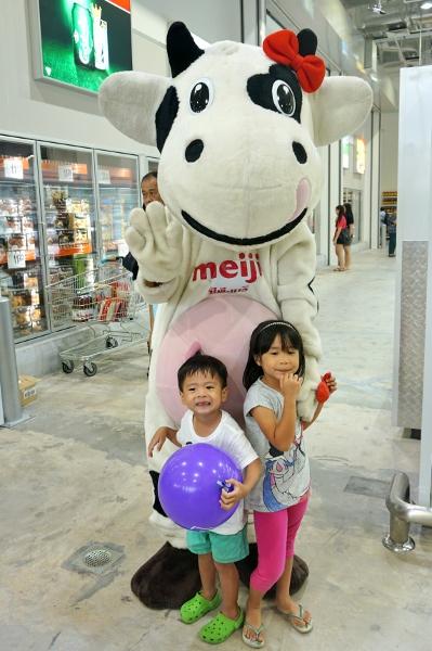 Meiji cow mascot