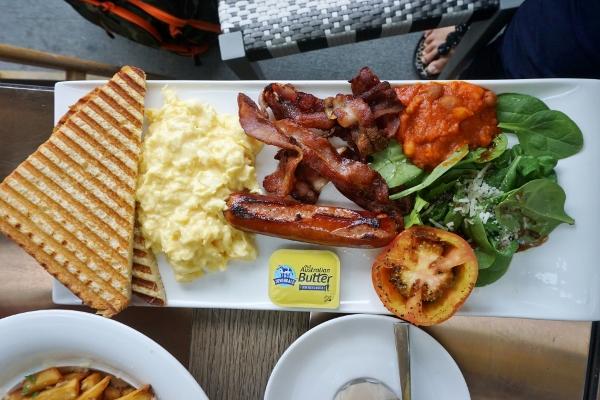 Big Breakfast (Adrian's, of course)