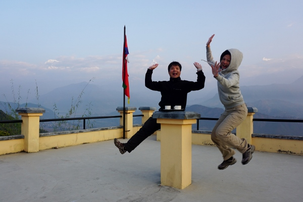 Nepal for our 9th anniversary