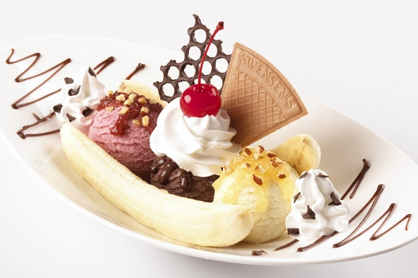 what the banana split should look like!