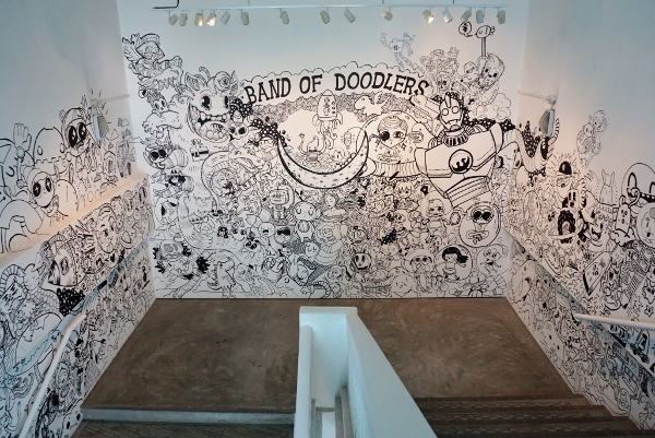 impressive work by Band of Doodlers
