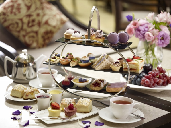 Purple Afternoon Tea