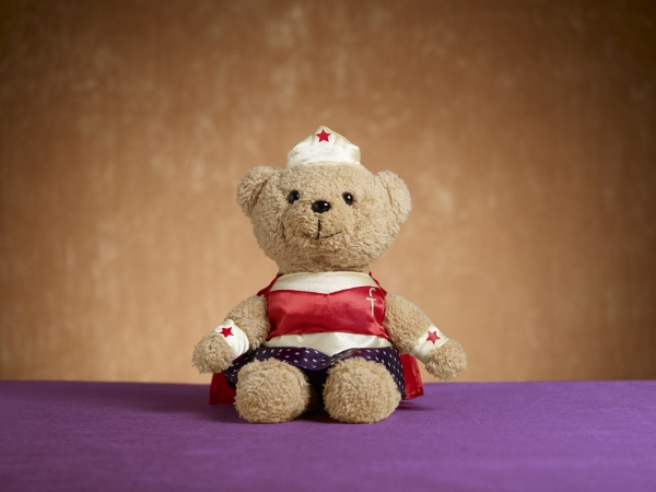 The Fullerton Heritage - Wonderful Woman Plush Bear (600x450)