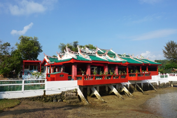 the Tua Pek Gong temple