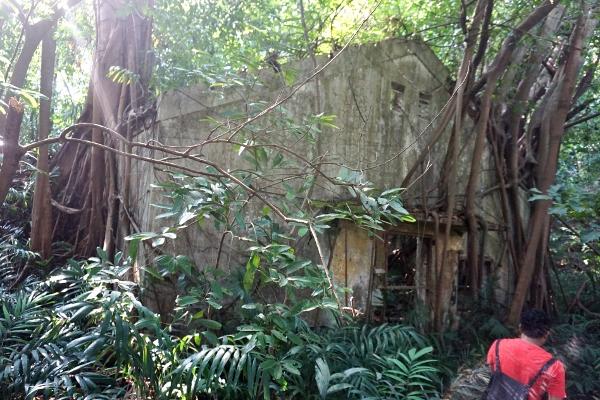 abandoned bunkers