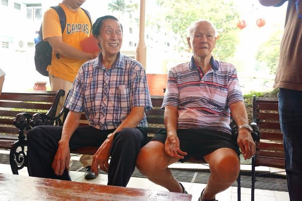 sharing their experiences of Boh Beh Kang