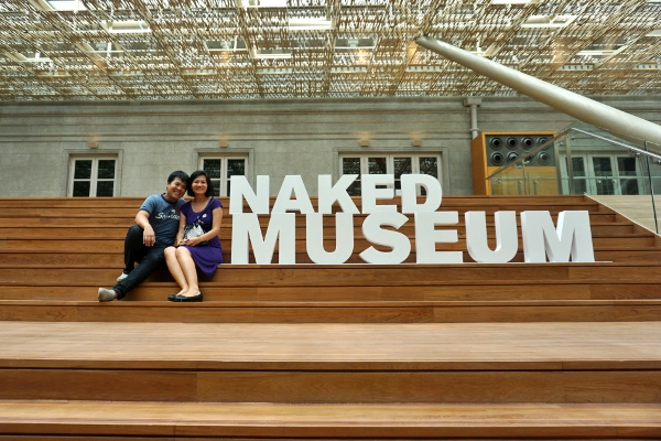 on the Naked Museum tour