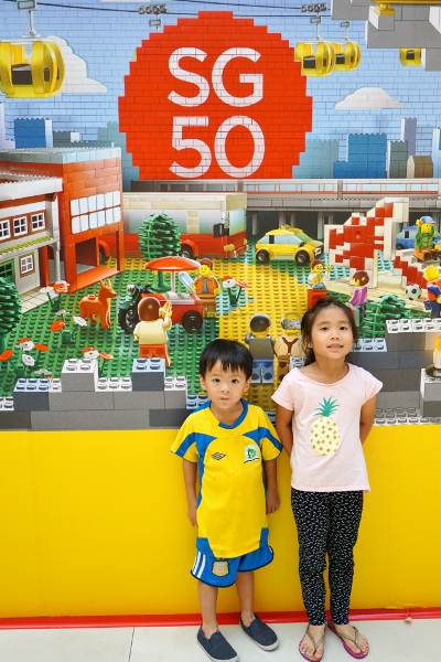 celebrate SG50 with LEGO!
