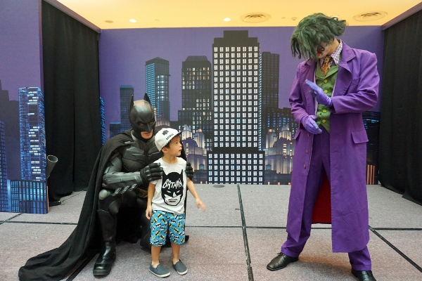 Batman will protect you from the Joker!