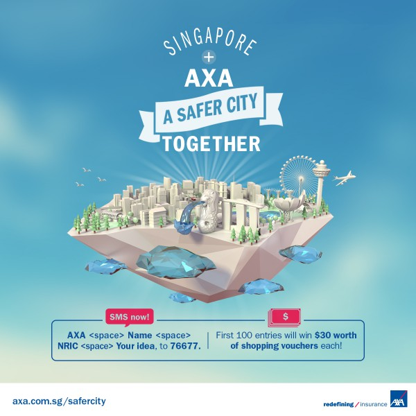 A Safe City with AXA Born to Protect