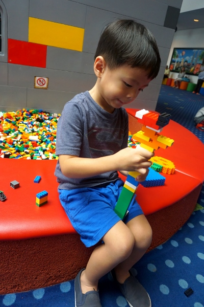 busy with LEGO